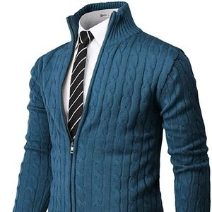 H2H Knitted Zip-up with Twisted Pattern